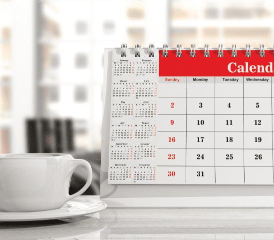 imprimerie calendrier