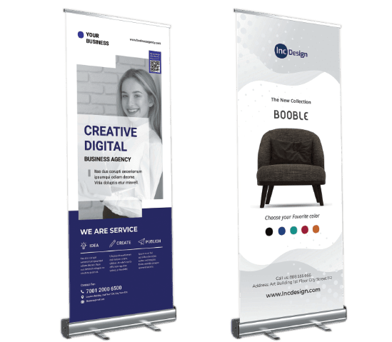 impression roll-up